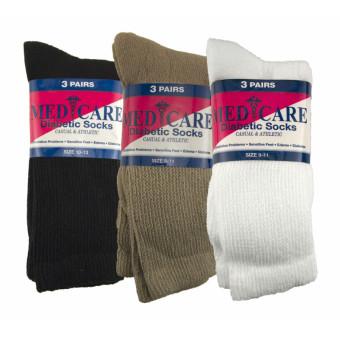 Diabetic Sock Combo Crew