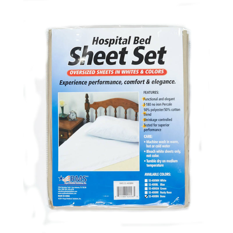 sheets sale professional fitted pieces bed linens hospital white