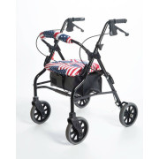 US Flag pattern on Rollator