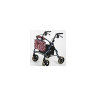 Walker Bag - pinwheel flower on rollator