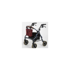 Walker Bag - wine on rollator