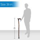 Spiral Derby Handle Walking Stick