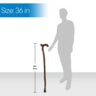 Smooth Derby Handle Walking Stick