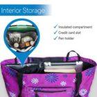Purple Flower - Interior Storage
