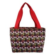CT08W - White Flower 8 can bag
