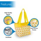 CT16Y - Yellow Flower 14 can bag